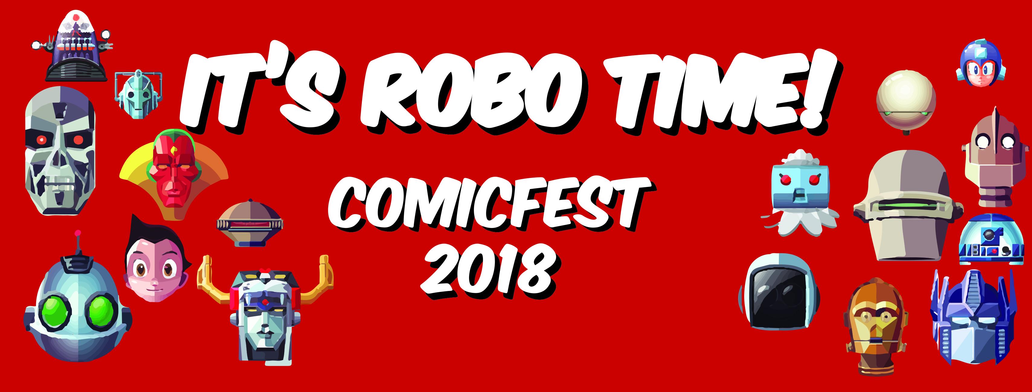 ComicFest Robo Theme