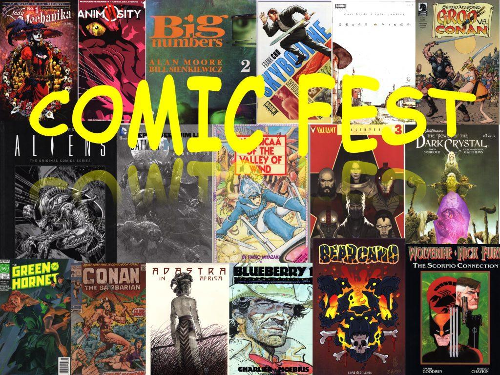 ComicFest Collage