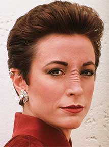 Nana Visitor as Kira
