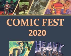 ComicFest 2020 Heavy Metal, part of Starfest
